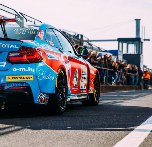 A racing car at Nürburgring
