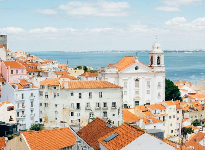 Lisbon on a sunny day
