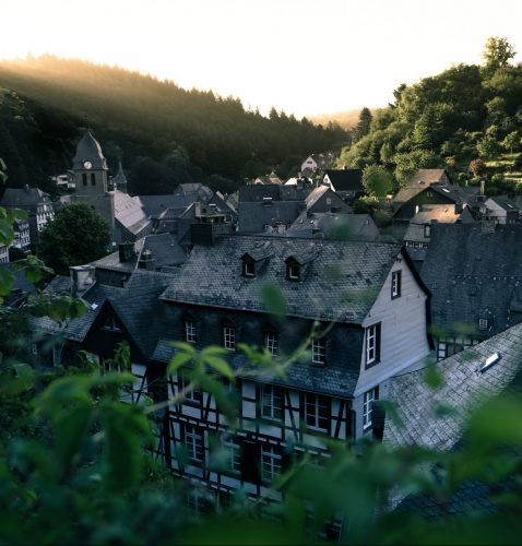 View of a house in Monschau