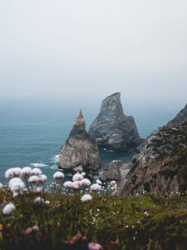 Portugal's coast in winter